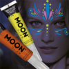 Neon Uv Face & Body Paint W/brush, 15ml