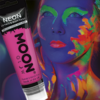 Neon Uv Face & Body Paint W/applicator, 75ml