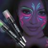 Glitter Neon Uv Body Crayons, 3.5g