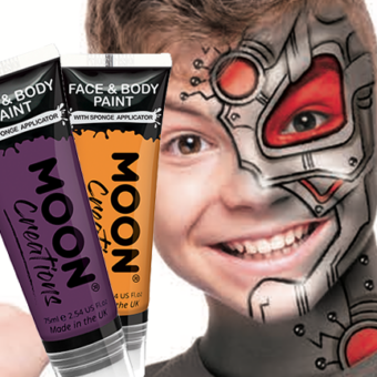 Face & Body Paint W/applicator, 75ml