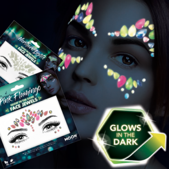 Glow In The Dark Face Jewels